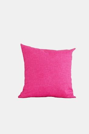 Dekoračný vankúš s výplňou ružový