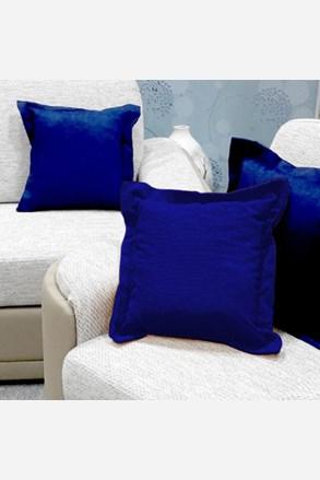 Dekoračný vankúšik modrý