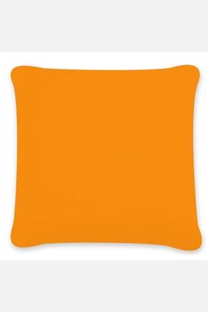 Obliečka na vankúšik Uni oranžová