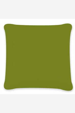 Obliečka na vankúšik Uni zelená