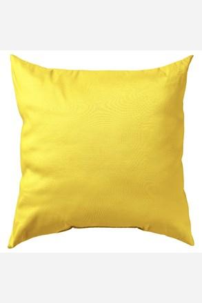Obliečka na vankúšik Uni žltá