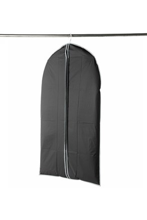 Obal na oblek či šaty čierny small