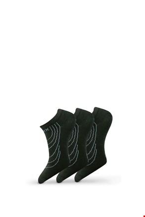 3 pack ponožiek Rex 02 čierna