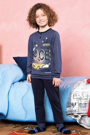 Chlapčenské pyžamo Race modré