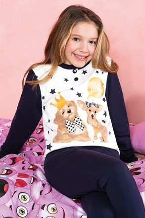 Dievčenské pyžamo Hallo
