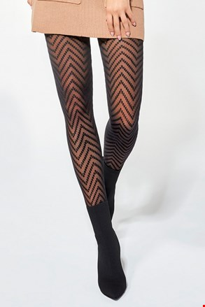 Vzorované pančuchové nohavice Sonia 30 DEN