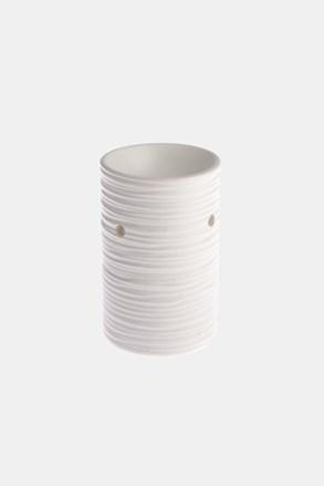 Keramická aromalampa biela