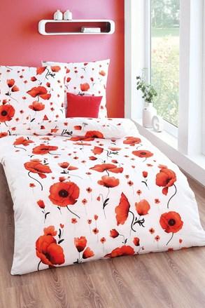 Krepové obliečky Scarlet poppies