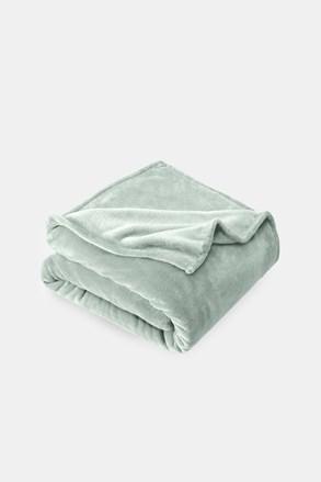 Mikroplyšová deka sivá