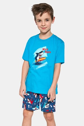 Chlapčenské pyžamo Shark surf