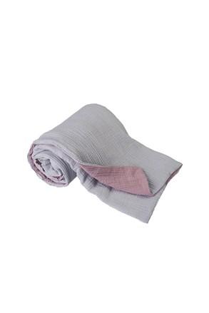 Detská deka Muslim sivo-ružová