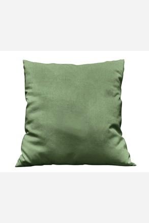 Obliečka na vankúšik Uni tmavo zelená