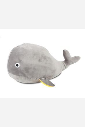 Detský vankúšik a hračka v 1 Veľryba