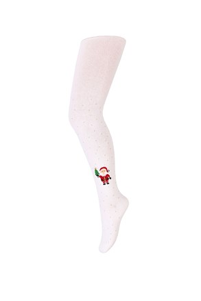 Dievčenské vianočné pančuchy Santa