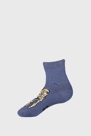 Chlapčenské ponožky Skeleton