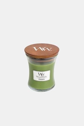 WoodWick Evergreen gyertya, közepes