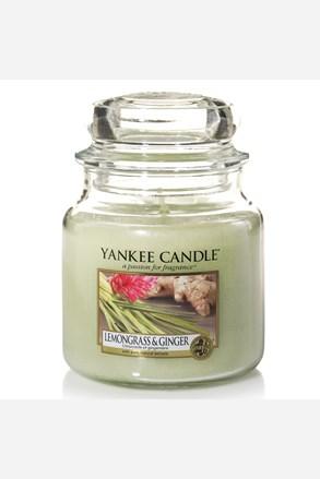 Yankee Candle sviečka Lemongrass Ginger stredná