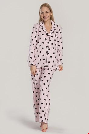 DKNY Festive Beast női pizsama, rózsaszín