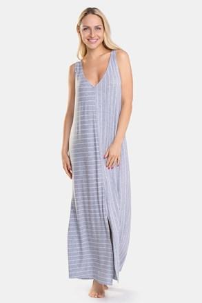 Dámská noční košile DKNY Grey Stripe