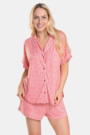 DKNY Pink Logo női pizsama