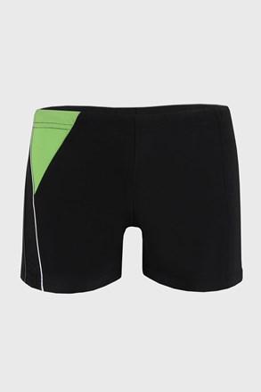 Čierne kúpacie boxerky Yachting