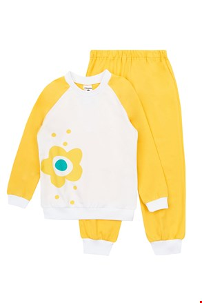 Dievčenské pyžamo Flower Yellow