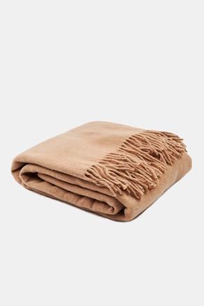 Luxusná deka Merino béžová