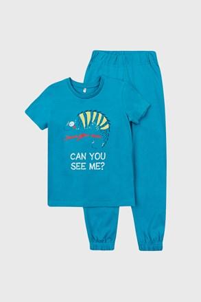 Chlapčenské pyžamo Chameleón