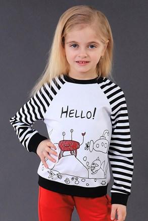 Detská mikina Hello