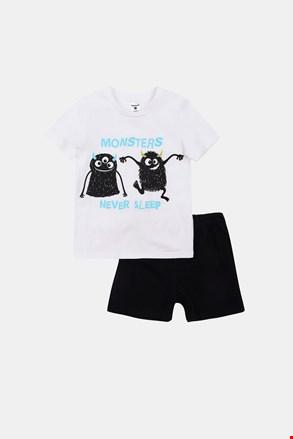 Chlapčenské svietiace pyžamo Monsters