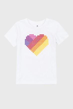 Love hearts lányka póló