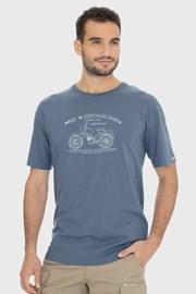 Modro-sivé tričko Bushman Bobstock