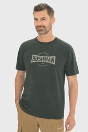 Tmavozelené tričko Bushman Gladwin