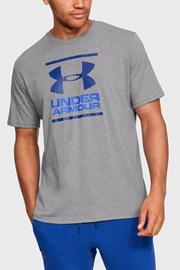 Sivo modré trički Under Armour Foundation