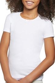 Dievčenské bavlnené tričko Simple