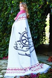 Luxusná bavlnená deka Marine