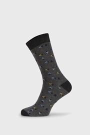 Šedé ponožky Fantasy Fall