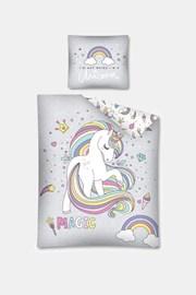 Detské obliečky svietiace v tme Unicorns