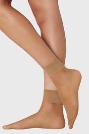 2 PACK silonových ponožiek 10 DEN