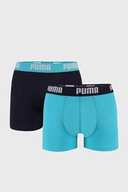 2 PACK modrých boxeriek Puma Basic