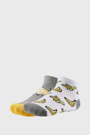 2 PACK chlapčenských ponožiek Bananas