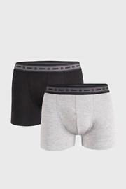 2 PACK sivo-červených boxeriek DIM Ecosmart