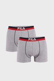 2 pack sivých boxeriek var.III FILA
