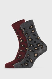 2 PACK dámskych ponožiek Cheetah