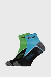 2 PACK ponožiek FILA Running Fluo