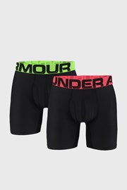 2 PACK čiernych boxeriek Under Armour Tech