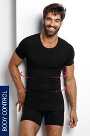 Sťahovacie tričko s okrúhlym výstrihom