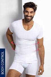 Sťahovacie tričko s véčkovým výstrihom