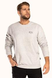Šedé bavlnené tričko Pure Cotton