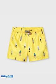 Chlapčenské plavkové šortky Mayoral Surf